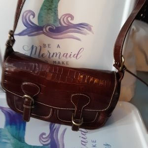 Bloomingdale's Bags - Bloomingdales Leather Bag